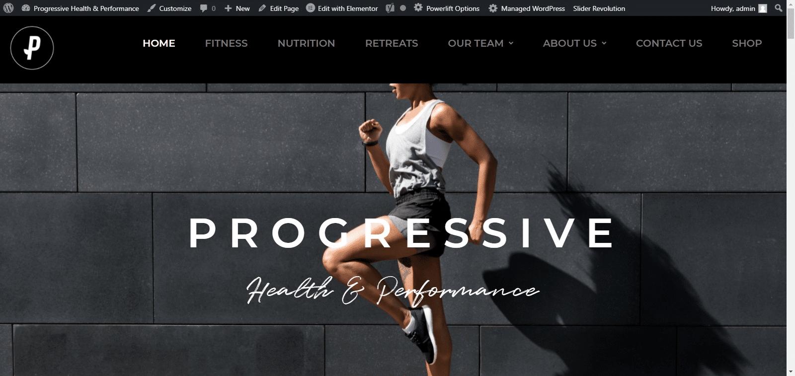 Progressive Health Performance