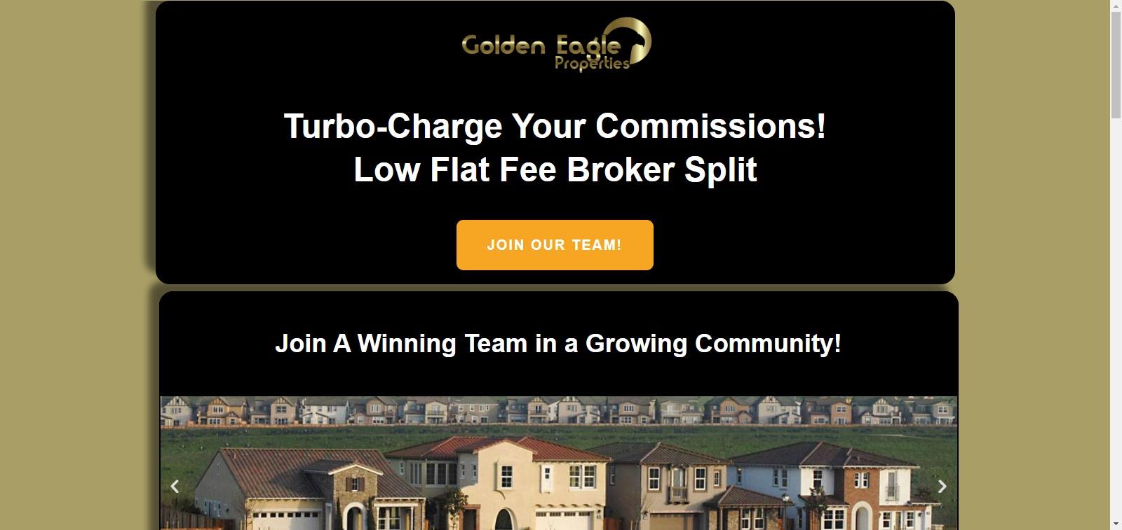 Join Golden Eagle Properties
