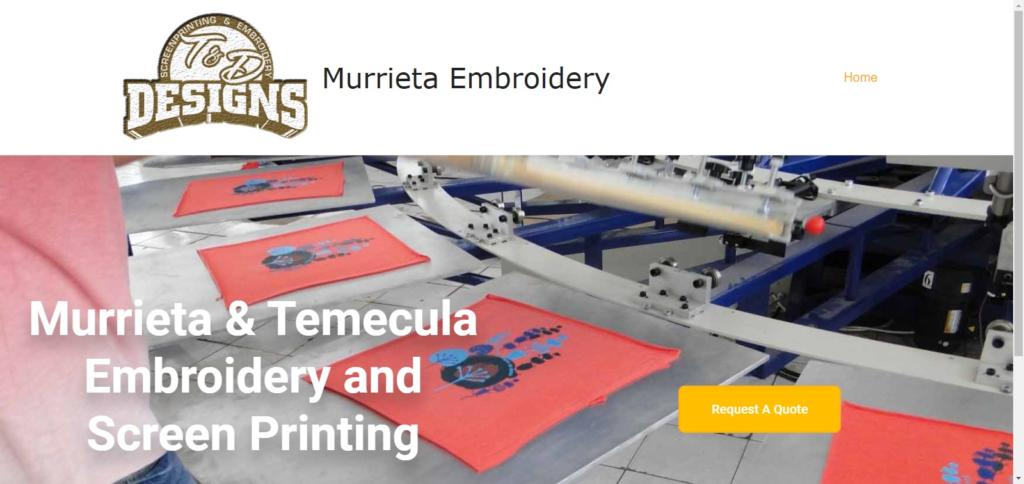 Murrieta Embroidery